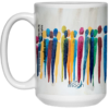 Stand Together 5 Mug by Suni Moon